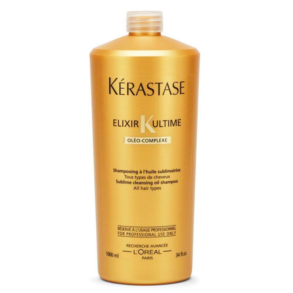 Shampoo Nutritivo Kérastase Elixir Ultime 1000ml