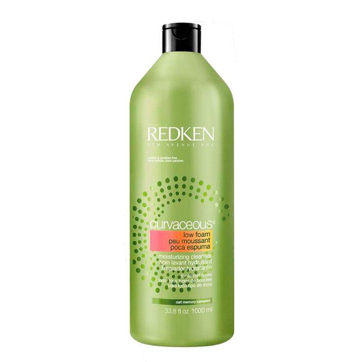 Shampoo Para Cabelos Cacheados e Ondulados Redken Curvaceous - 1000ml