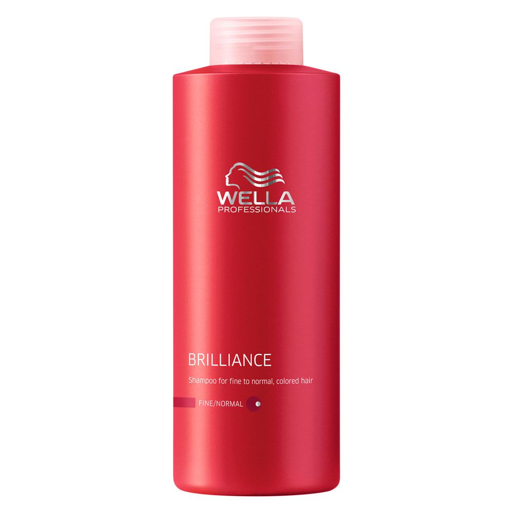 Shampoo para Cabelos Coloridos Brilliance Wella Professional - 1000ml