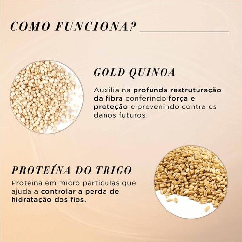 Shampoo Absolut Repair Gold Quinoa + Protein L'Oréal Professionnel 1500ml
