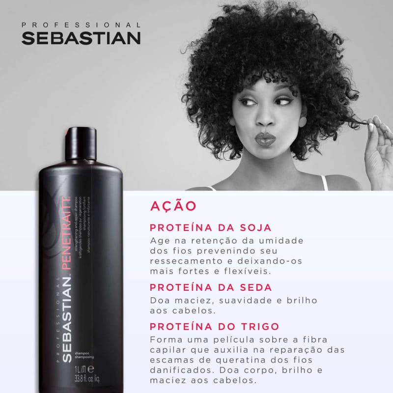 Shampoo Sebastian Penetraitt - 1000ml