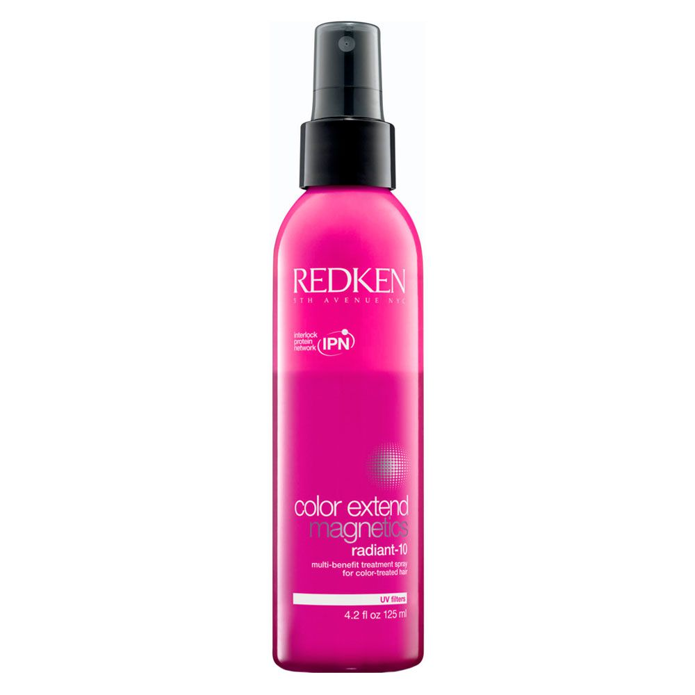 Spray de Tratamento Para Cabelos Coloridos Redken Color Extend Magnetics Radiant 10 - 125ml