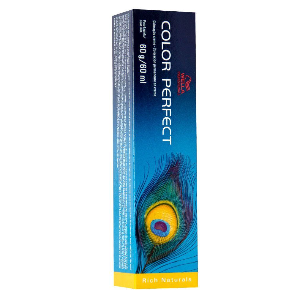 Wella Color Perfect Tintura 9/11 Louro Ultraclaro Cinza Intenso 60g