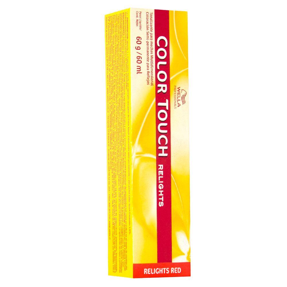Wella Color Touch Blonde Tonalizante /74 Marrom Avermelhado 60g