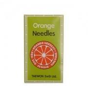 Agulha TVx5 ORANGE pacote com 10 agulhas