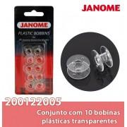 Bobinas JANOME pacote com 10 bobinas