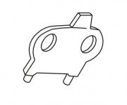 Chave Borboleta para Troca do disco de Máquina de Corte - S-173