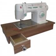 Gabinete portátil para máquina de Costura Domestica SINGER e ELGIN