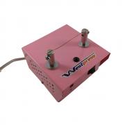 Máquina de cortar fitas e fazer fuxico bivolt - na cor rosa