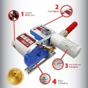 """Máquina de corte Fim de Enfesto EXATA EX - B12 - Disco 4 1/4"""" polegadas"""