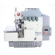 Máquina de Costura Overloque 3 Fios SINGER Eletrônica Bivolt 351G com Embutidor de Correntinha