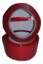 Fita para Lacrador de Sacolas - Vermelha pacote com 5 Rolos de 80 Metros cada