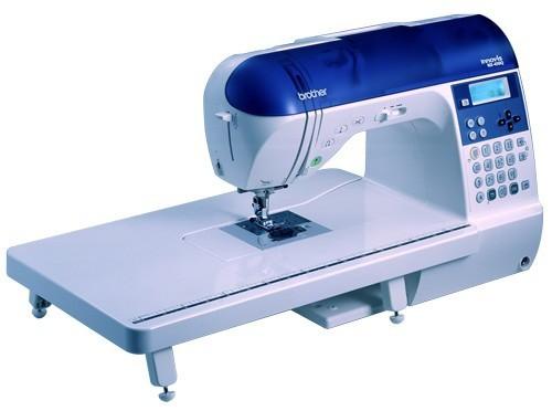 BROTHER NX 450Q - Máquina de costura com 168 e 3 tipos de letras, especial para quilting.