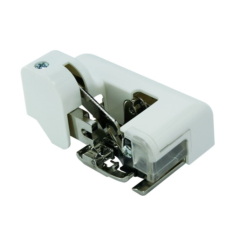 Calcador Overloque com Faca - Faz a costura e corta a lateral do tecido