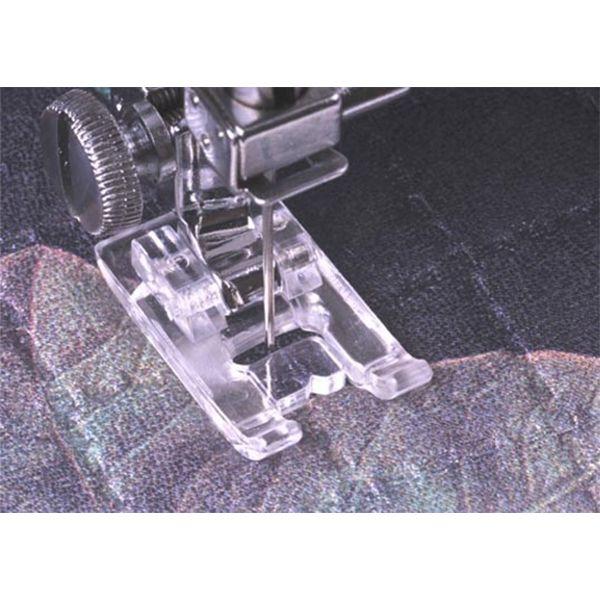 Calcador para costura paralela