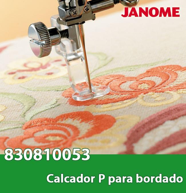 Calcador para máquina de Bordar JANOME MC 350E / ELNA 8300 - Pacote com 5 calcadores