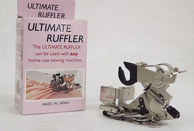 Calcador para pregas e franzidos Ruffler Janome
