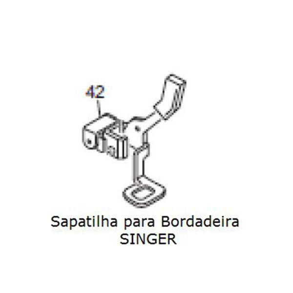 Calcador / Sapatilha para Bordadeira SINGER EM 200 cod. 68002690
