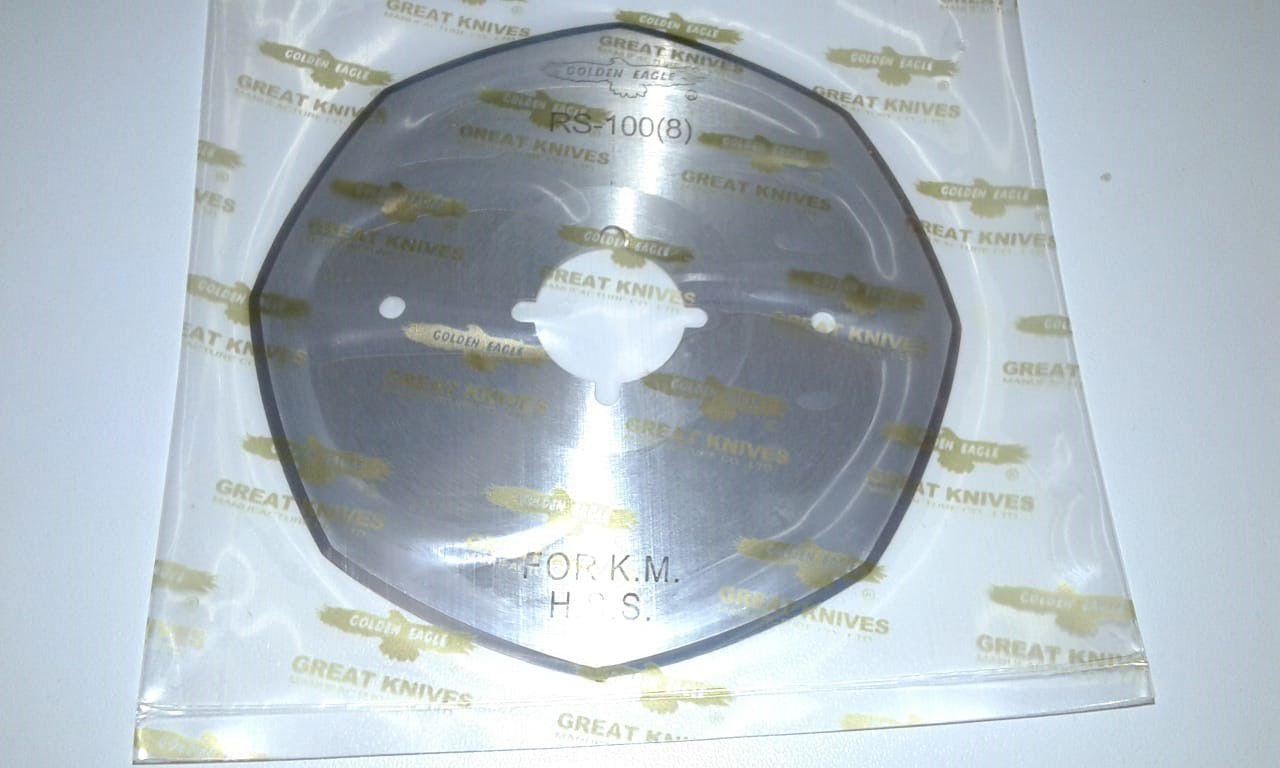 """Disco de Corte Golden Eagle 4"""" Aço Rápido Octogonal - Excelente qualidade"""