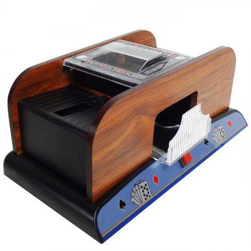 Embaralhador de Cartas Automático versão Deluxe amadeirado