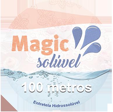 Entretela Hidrossolúvel - Magic Solúvel 100 Metros