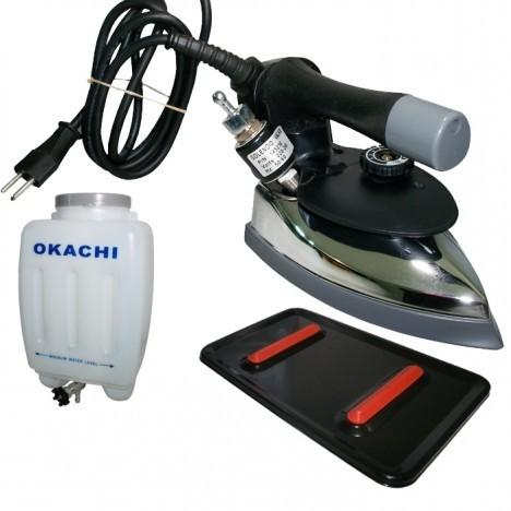 Ferro de passar Roupas Profissional Okachi  2,100 kg - Leve OK-94
