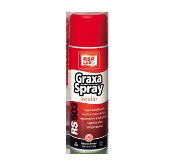 Graxa Liquida Multiviscosa Spray incolor 310ml.