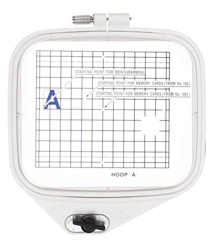 Kit com Bastidores A, B, C para  JANOME MC350e - MC370e - ELNA 8300 - BERNINA deco.