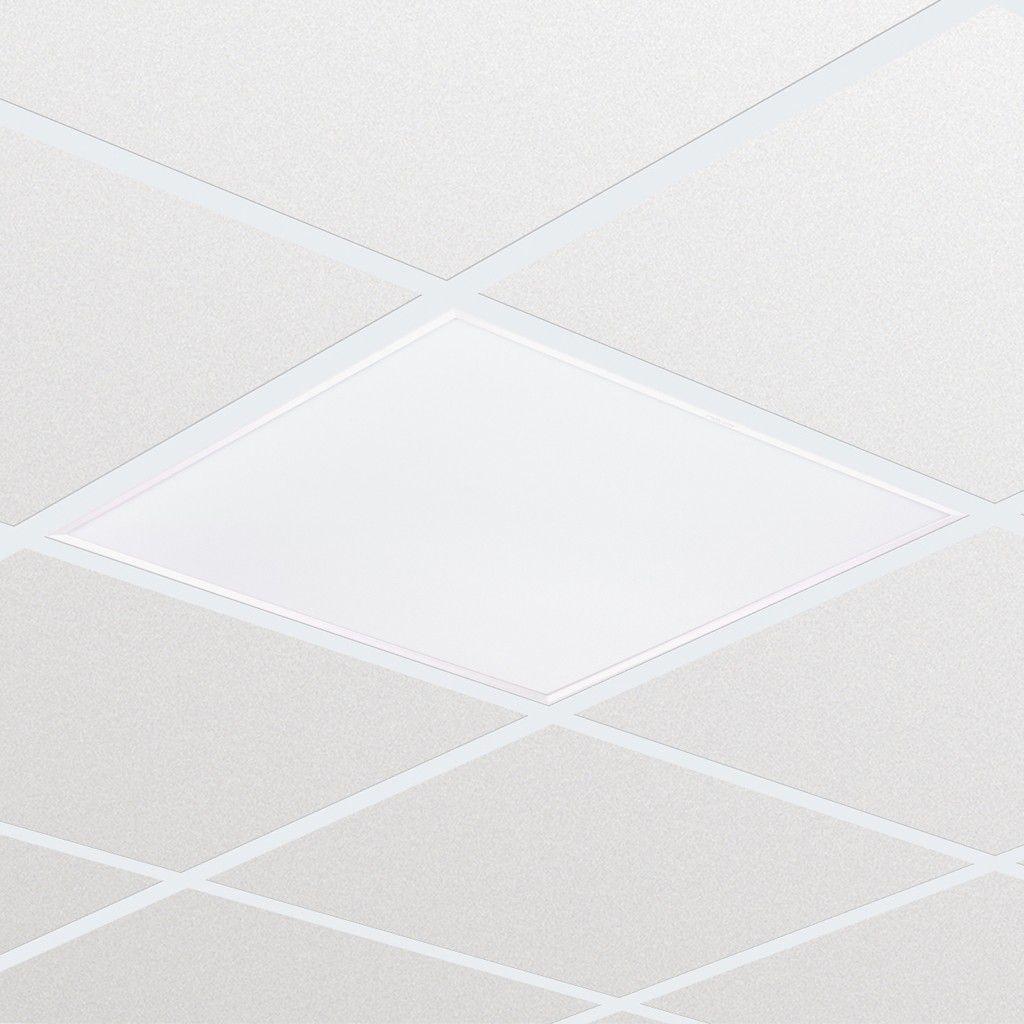 Luminária LED 44W 220V 4000K Amarela embutir 62x62 RC126B - PHILIPS