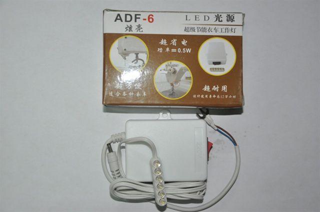 Luminárias para máquinas 6 LEDs com imã