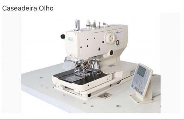 Maquina Caseadeira de Olho Eletronica Sansei SA-9820-02