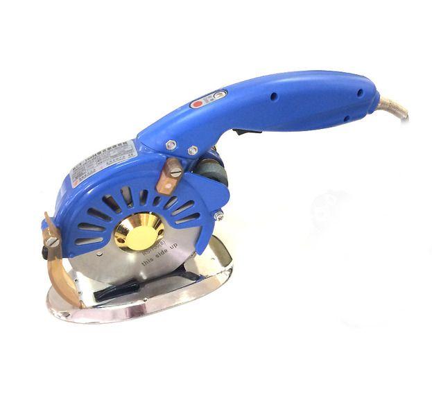 """Máquina de Cortar Tecidos Direct-Drive com Disco Octogonal de 5"""" - Corta até 4 centímetros de Tecido - Nova tecnologia!"""