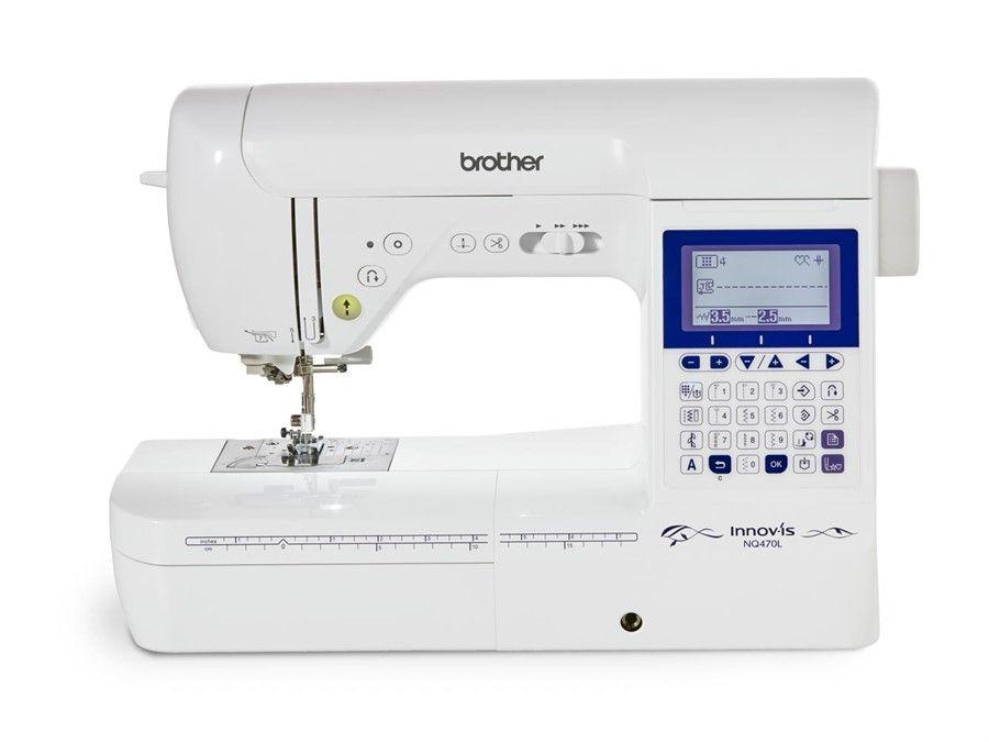 Máquina de Costura Brother NQ470LDV Autovolt - Uma incrível máquina de costura eletrônica especial para quilting.