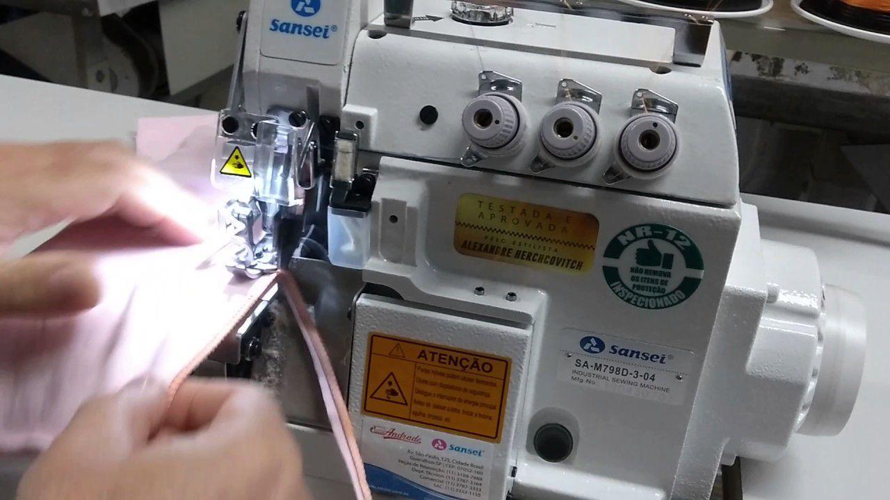 Máquina de Costura Interloque SANSEI Direct Drive SA-M 798D-5-35