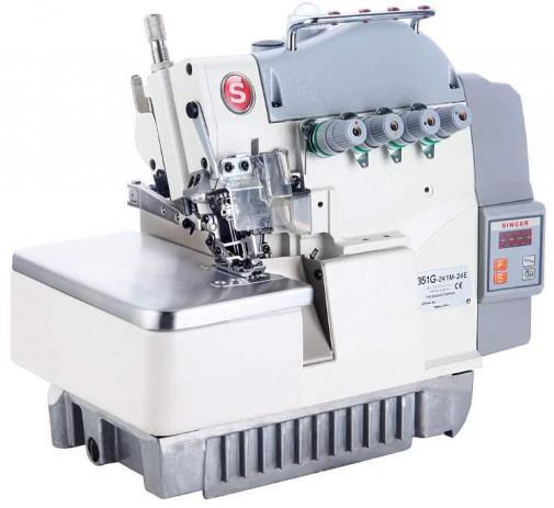 Máquina de Costura Overloque 3 Fios SINGER Eletrônica Bivolt 351G