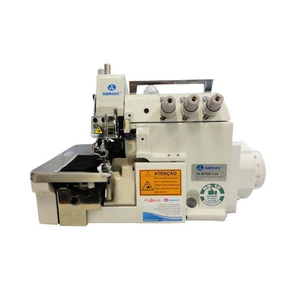 Máquina de Costura Overloque Direct Drive Sansei SA-M798D-3-04