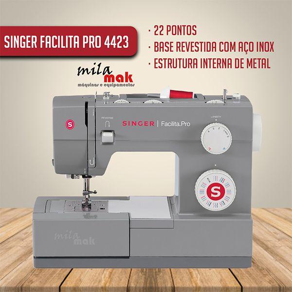 Máquina de Costura Singer Facilita Pro 4423