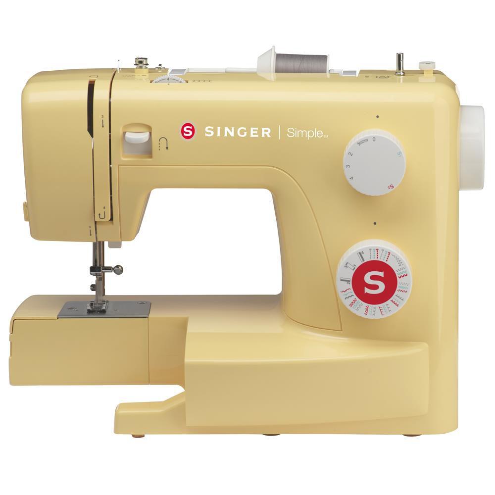 Máquina de Costura SINGER Simple 3223 yellow - Com Braço Livre!