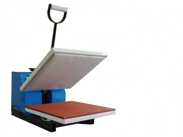 Máquina de estampar camisetas 38 x 38 cm.