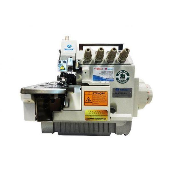 Máquina Overloque 2 Agulhas Sansei Ponto Cadeia SA-M798D-4-24