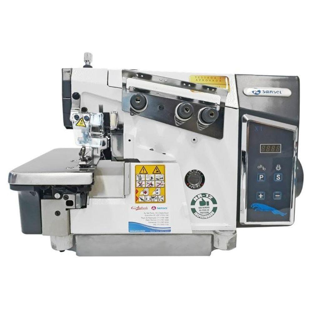 Máquina Overloque Sansei 3 fios SA-MX1-3-02/223