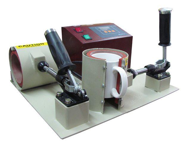Máquina para estampar canecas
