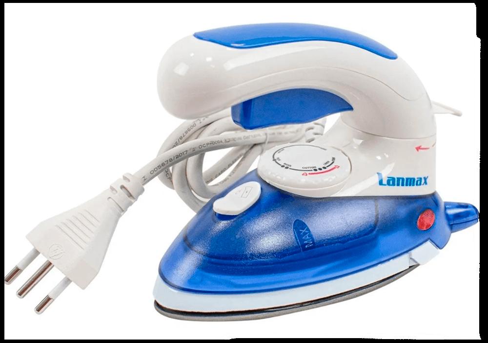 Mini Ferro de passar roupas 2 em 1 - Ferro e Steamer portatil - LANMAX