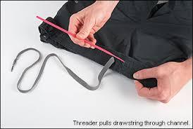 Passador de Elásticos e Cordões Flexível  com 58 centímetros