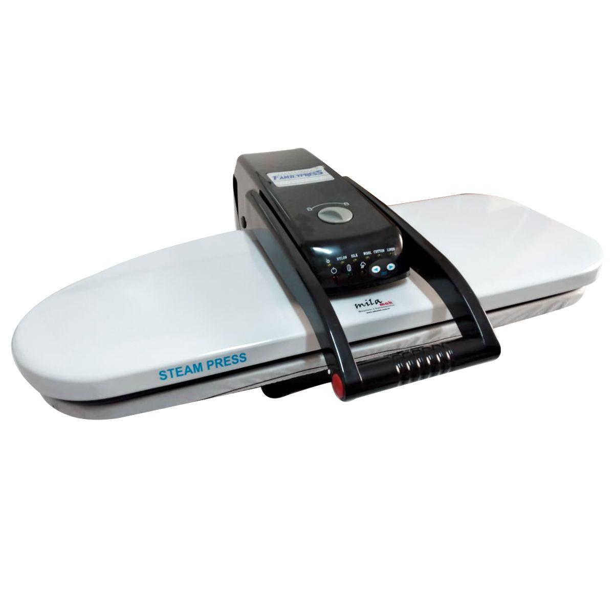 Prensa de passar roupas Doméstica a Vapor 1600 watts de potência - área de 66 x 25 cm