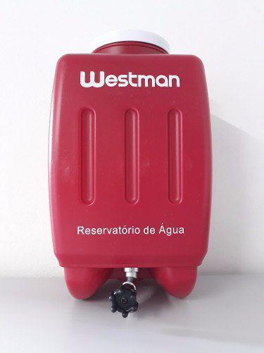 Reservatório de água para ferros de passar Gravitacionais WESTMAN -Vermelho
