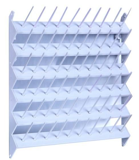 Suporte de parede para 60 cones de linha