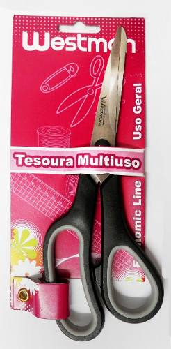 "Tesoura 7,5"" 19cm Westman Multiuso"