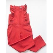 Macacão Bailarina Vermelho