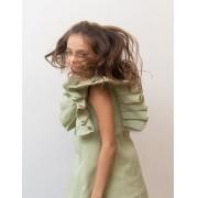 vestido asa oliva
